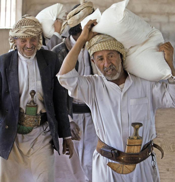 Männer im Jemen  | Foto: Matthias Leibbrand