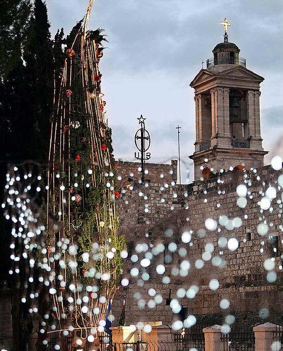 Bethlehem in Erwartung der Weihnachtsgäste  | Foto: usage Germany only, Verwendung nur in Deutschland