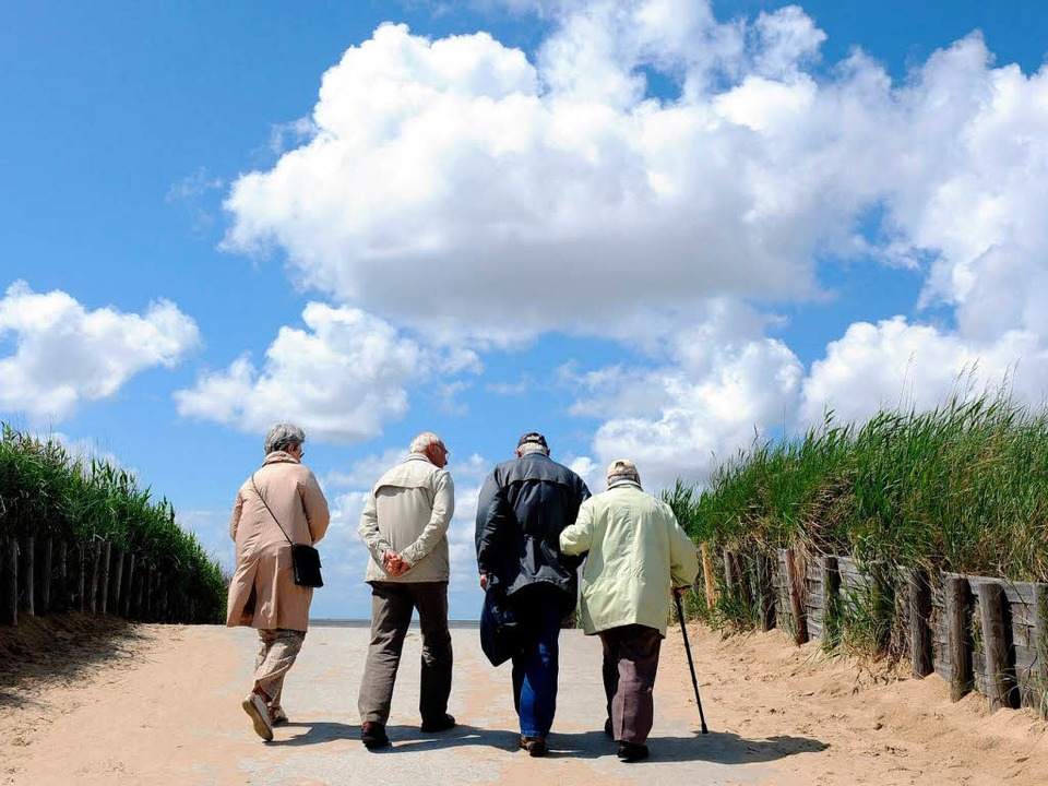Alte Menschen sind Weltmeister darin, ... <BZ-Seitenhinweis></BZ-Seitenhinweis>  | Foto: dpa