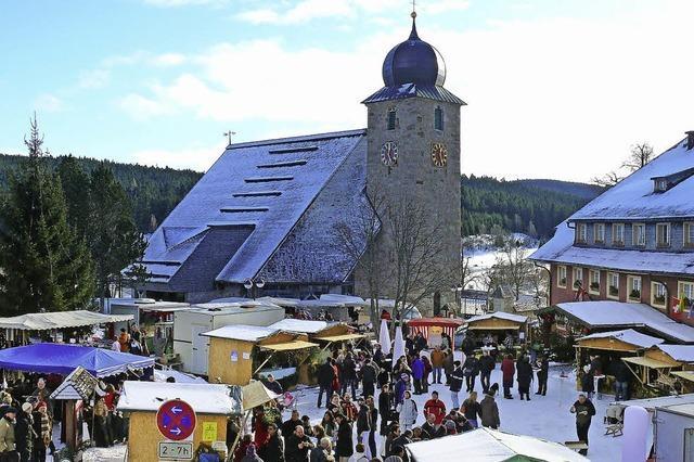 Wintermarkt in Schluchsee