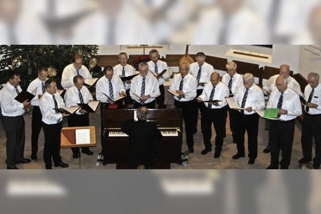 Aus dem weihnachtlichen Singen wurde ein glanzvolles Konzert
