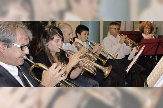Besinnliche Töne aus Trompete, Tuba und Horn