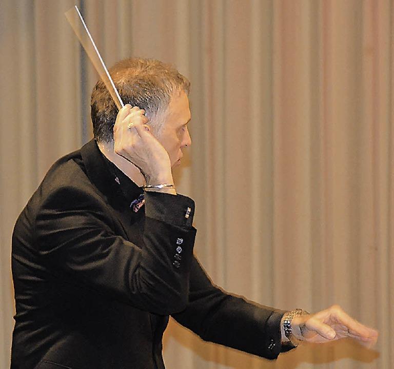 Dirigent Rinklin  | Foto: Sylvia-Karina Jahn