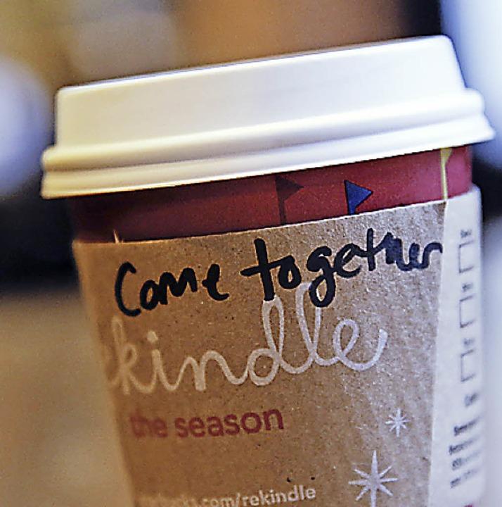 Einigungsappell einer amerikanischen Kaffeehauskette  | Foto: afp