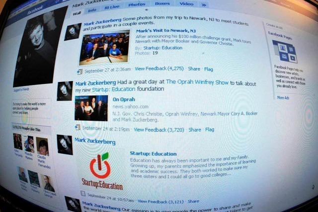 Familienfoto im Netz: Ach, diese Zuckerbergs!