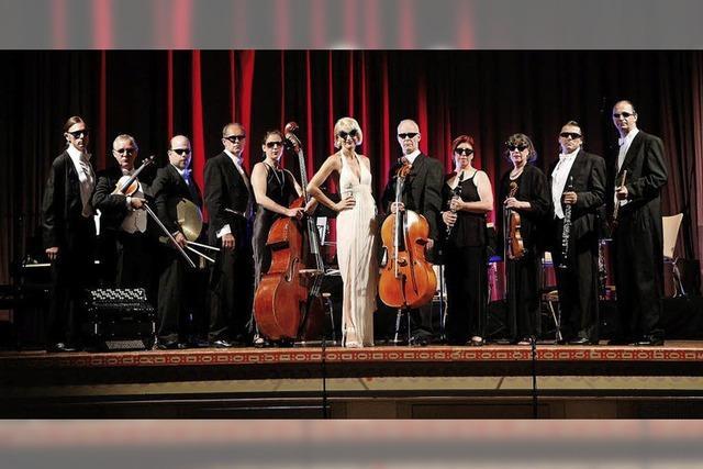 Annette Postel und das Salonorchester Schwanen in Staufen