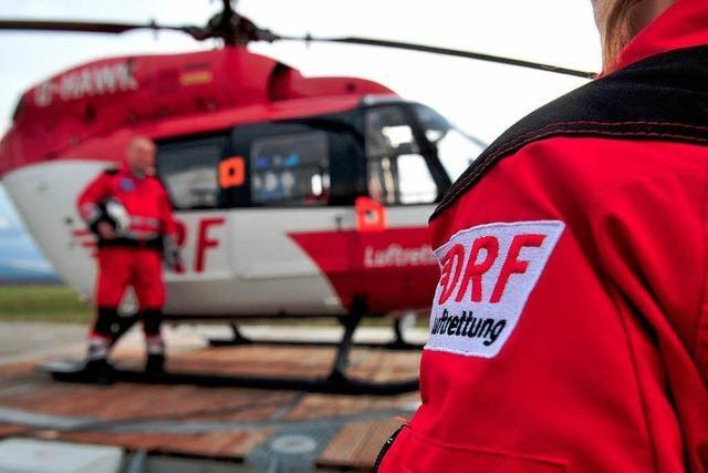 Rettungsflieger im Südwesten mit Rekord an Einsätzen