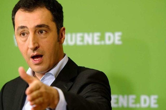 Özdemir fordert Baustopp für Stuttgart 21
