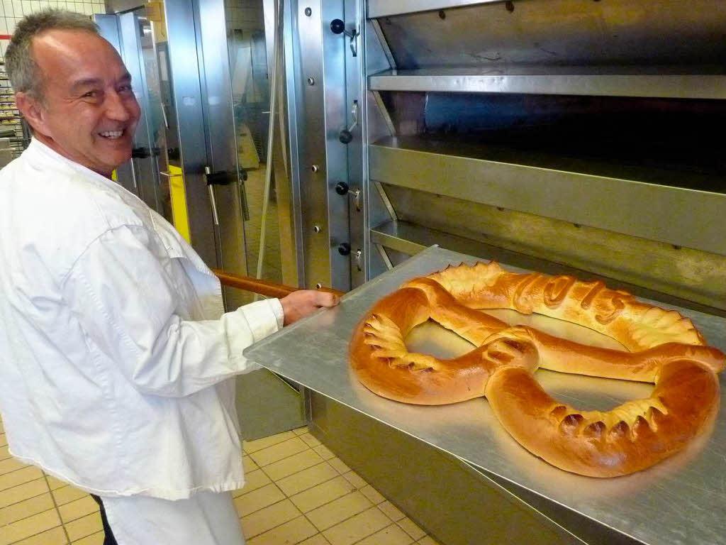 Neujahrsbrezel aus Offenburg: Tradition mit viel Butter ...