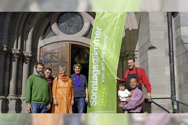 Sonntagszimmer in Kleinbasel - ein Beispiel für das multikulturelle Leben