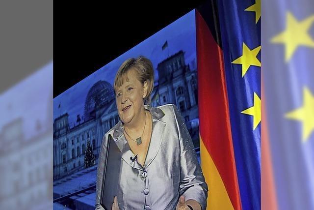 Merkel: Wirtschaftslage als Ansporn