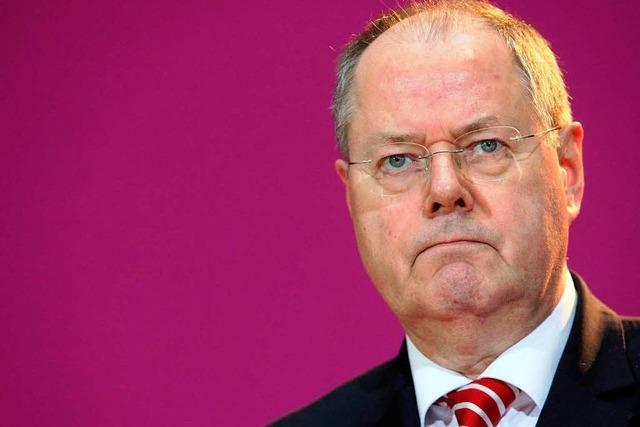 Kanzlergehalt: Kritik aus SPD an Steinbrück