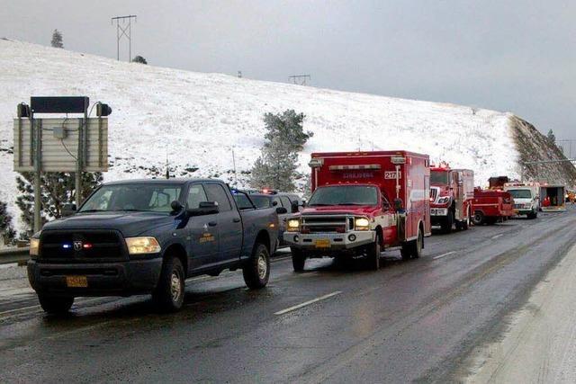 Neun Tote und 39 Verletzte bei Busunglück in Oregon