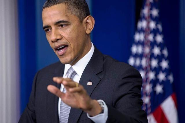 USA stürzen über Fiskalklippe - vorerst