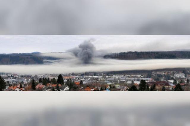 Großbrand an Neujahr vernichtet Zimmerei
