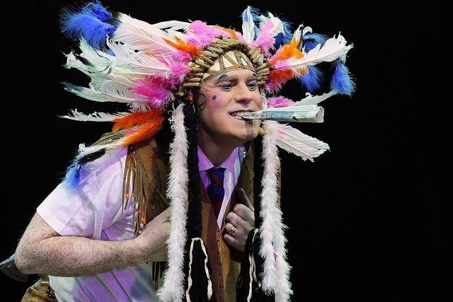 Jimmy Folco vom Circus Circolo - mit Leib und Seele Clown
