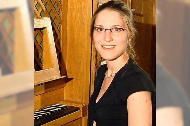Start in die neue Saison an der Metzler-Orgel