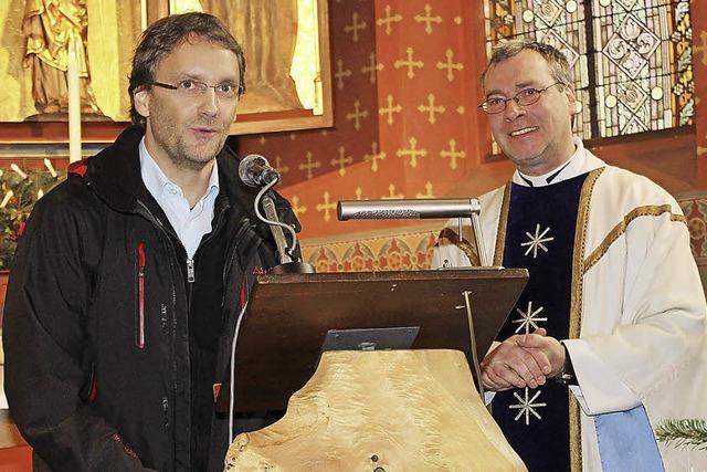 Katholische Gemeinde feiert Neujahr in Wallburg