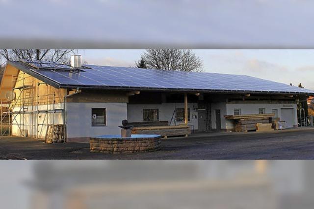 Größte Solaranlage der Bürgerenergie
