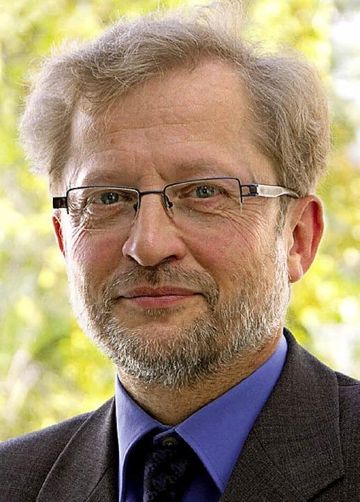 Professor Michael Herbst erhält den Sexauer Gemeindepreis.  | Foto: Privat