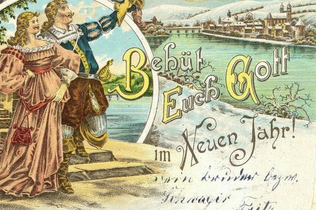 Neujahrsgrüße vom Trompeter