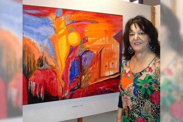 Margherita Keßler: Die Melodie der Farben erklingt auf 50 Gemälden