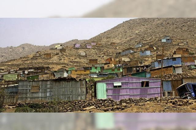 Die KfW will im von Trockenheit geplagten Peru die Armut bekämpfen
