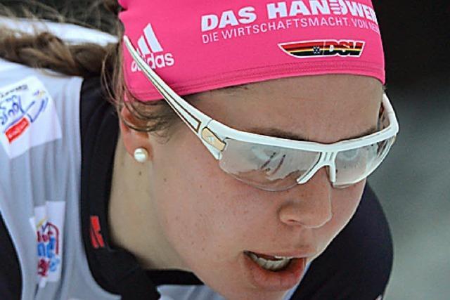 Hanna Kolb wird Vierte und sichert sich das WM-Ticket