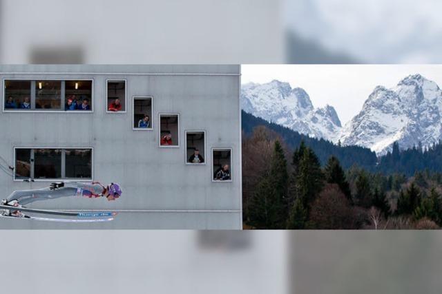 Garmisch-Partenkirchen: Deutsche Skispringen überzeugen nur zum Teil