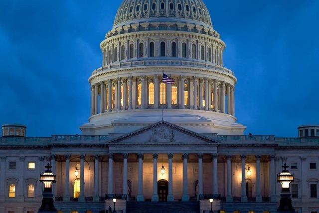 US-Etatstreit: Kongress segnet Einigung ab - Neue Probleme drohen
