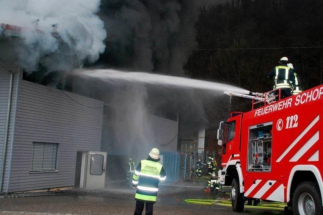 Feuer in Schopfheim: