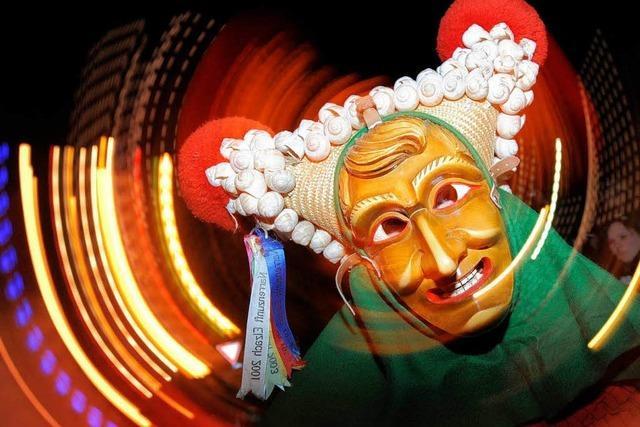 Narrentreffen mit Tradition: Viererbund feiert in Elzach