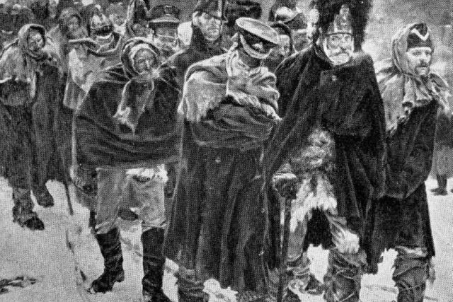 Badische Husaren schlagen 400 Kosaken in die Flucht