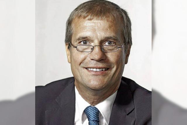 Auf aktive Gewerbepolitik kommt es Klaus Eberhardt besonders an
