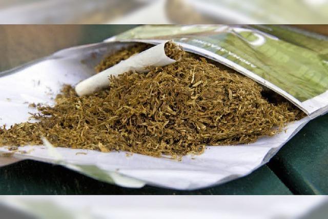 Die Steuer auf Zigaretten und Tabakfeinschnitt steigt