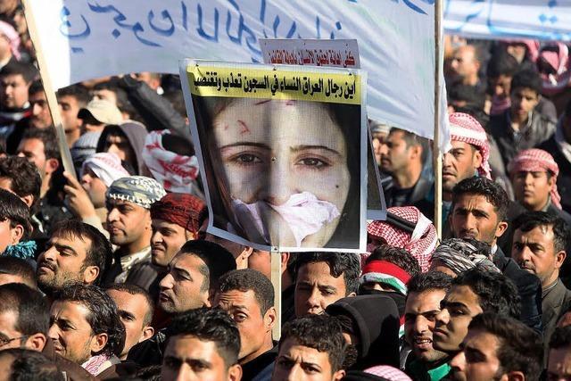 Iraker protestieren gegen Regierung