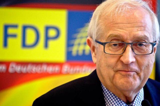 Rainer Brüderle: Rösler ist unser Kapitän