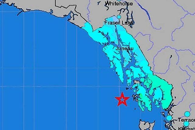 Starkes Erdbeben vor Alaska löst kleinen Tsunami aus