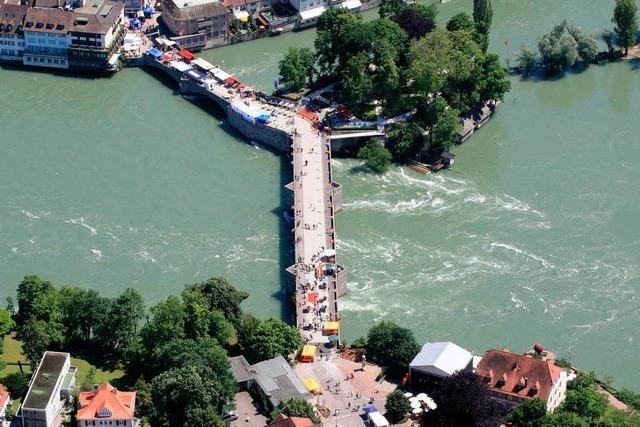 Rad- und Fußgängersteg Rheinfelden: Lösung gesucht