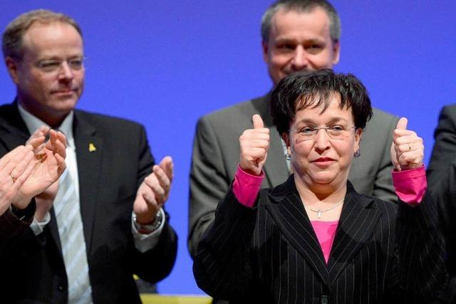 Homburger appelliert in Stuttgart an Teamgeist der FDP