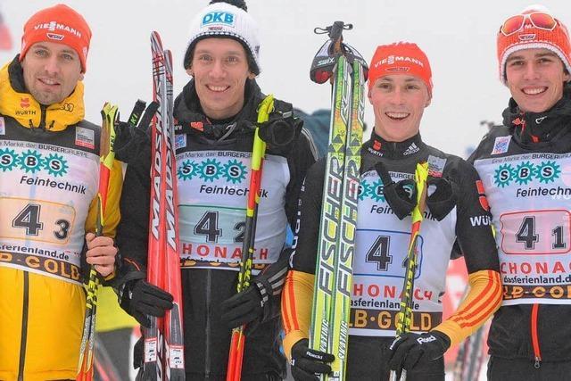 Deutsche Kombinierer Zweite bei Weltcup in Schonach