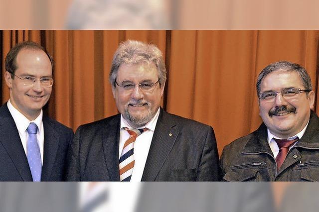 Neujahrsempfang mit zwei Bürgermeistern