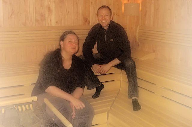 Sauna in neuem Glanz