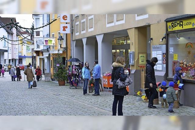 Einzelhändler klagen nicht übers Weihnachtsgeschäft