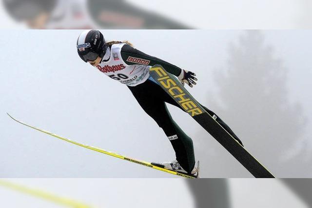 Nebelsprünge - der Frauenwettbewerb in Schonach