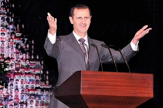 Assad ruft Volk um Hilfe