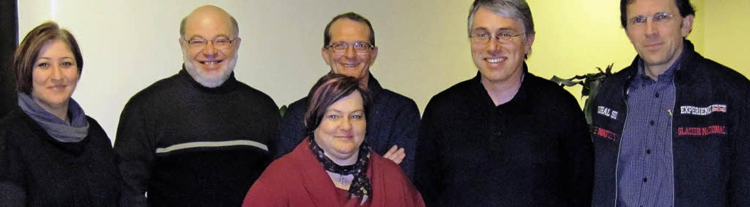 Sie bilden den Vorstand des Fördervere...Simon. Es fehlt Dr. Thorsten Hoffmann   | Foto: Privat