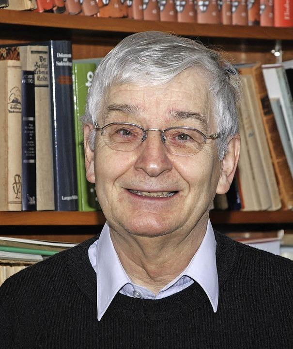 Werner Scheurer, Präsident der Chorvereinigung Concordia  | Foto: Siefke