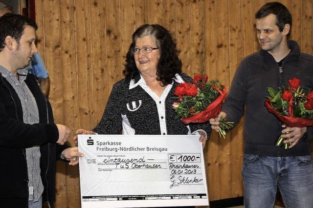 1000 Euro für TuS-Nachwuchs