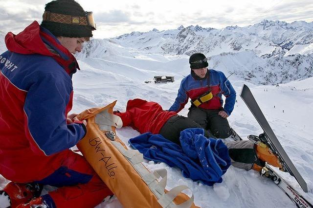 Die Bergwacht war in zwei Wochen 170-mal im Einsatz